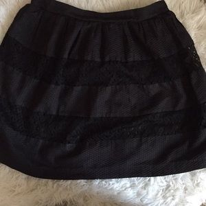 Heartsoul large black lace skirt